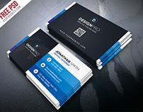 Free PSD : Creative and Modern Business Card Bundle