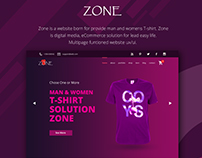 Zone eCommerce Website Template Ux/Ui Design