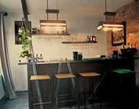 Bar - Projet réalisé avec So&Lo