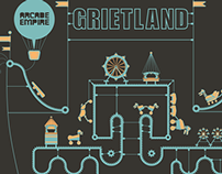 Grietland poster design (self initiated)