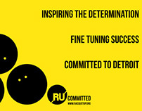 RU Committed Poster Campaign