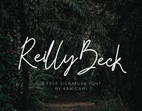 Reilly Beck - Free Signature Font