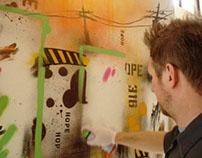 1AM Gallery Installation, Video
