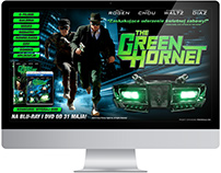 """Strona www i bannery """"The Green Hornet"""" - Imperial"""