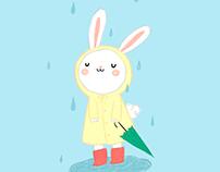 Rainy day, don't care