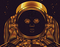 Golden Astronaut