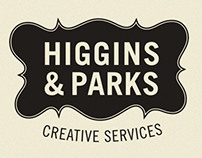 Higgins and Parks Branding