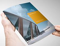 Modern Project Tri-Fold Brochure