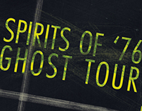 Spirits of '76 Ghost Tour Map