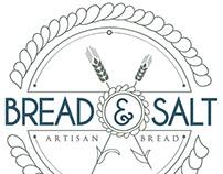 BREAD & SALT - Artisanal Bakery Branding