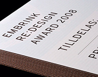 Embrink Re:design Award
