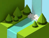 Isometric World /Inspired by Keira Arts/