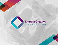 Imagen e identidad corporativa para empresa consultora