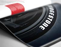 Redesign Revista em Rede - Bridgestone
