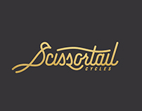 Scissortail Cycles Branding