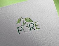(pure) logo brand