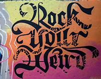 'Rock Your Weird' Mural // Austin, Texas
