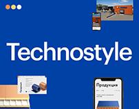 Редизайн сайта «Техностиль»