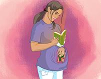 Una Niña, Un libro