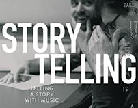 BOOK+CD // Aaron Parks & Christian Vuust, Storytelling