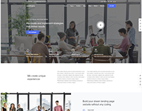 AGENCY - WordPress Website Template Design