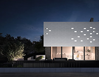 visualization of private house