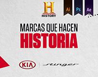 KIA Stinger - User Creative Solutions History Channel