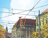 King's Square - Illustration
