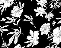 Japanese botanical print
