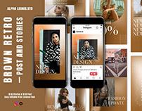 Fashion Gradient Aesthetic Instagram Posts & Stories