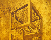 The Geometry of Living - Towers (Litho) + Exhibition