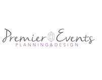 Premier Events Logo, Branding & Web Design