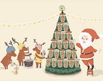 【聖誕也很台 Taiwanese style in Christmas】 送給你的祝福也要很台