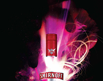 Smirnoff. Mix more there