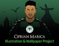 Ciprian Marica: Illustration & Wallpaper Project