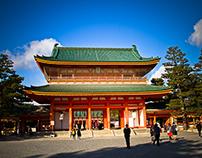 Heian-Jingu Shrine, Kyoto