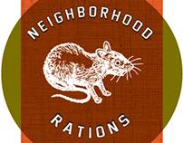 Branding Concepts-Neighborhood Rations