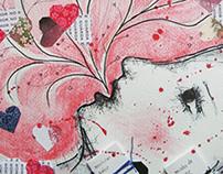 Drawings, watercolors and sketchbooks