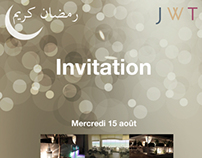 Invitation JWT/Tunisiana