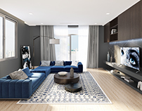 Livingroom design by Lai Phap
