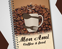 Menu coffee & food - Mon Ami