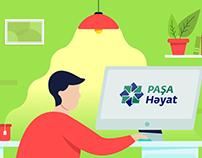 Pasha Life - Dostunu Gətir 2D Video