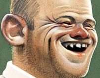 Wayne Rooney Caricature: Plakker Album