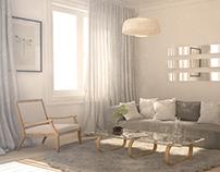 3D // Arch Viz - Living Room