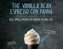 Layered Con Panna and Cappuccino Poster Series
