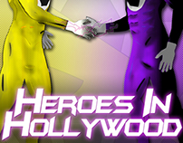 Heroes In Hollywood (CD Design, Logo)