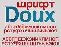 Free font Doux