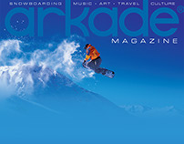 Arkade Magazine Cover :: Logotype Branding (proposed)