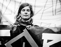 Protest against school reforms, Brno, Czech republic
