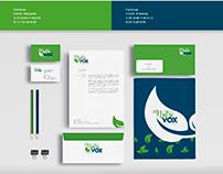corporate identity Nutri Vox